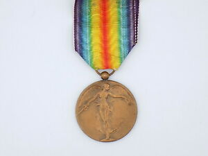 Original WWI Belgian InterAllied Victory Medal w/ Ribbon