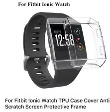 Fitbit Ionic Accessories Screen Protector and Clear Case
