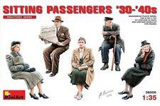 Miniart 38006 1/35 Sitting Passengers '30-'40s