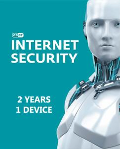 ESET NOD32 INTERNET SECURITY 2021 2 YEARS 1 PC WORLDWIDE ACTIVATION KEY
