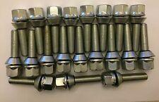20 X M12X1.25 67mm LONG 42mm THREAD WOBBLE ALLOY WHEEL BOLTS FITS PEUGEOT 2 65.1