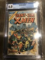 Giant Size X-Men #1, CGC 6.0, 1st Appearance of STORM, COLOSSUS, NIGHTCRAWLER