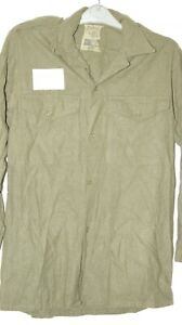 """BRITISH ARMY POST WW2 WWII WOOL SHIRT MILITARY GENUINE ISSUE 36"""" CHEST NS06"""