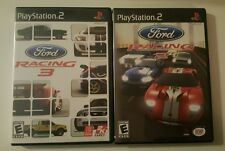 PlayStation 2 Ford Racing 2 & 3 Games For PS2