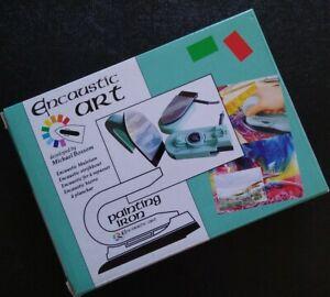 NOS Encaustic Art Painting Iron Wax Tool Michael Bossom FREE PRIORITY MAIL