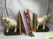 Vintage Elephant Book Ends