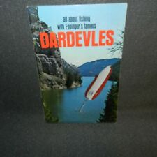 New listing 1960's 50 page booklet - all about fishing with Eppinger'S famous Dardevles.