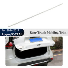 Rear Lower Tailgate Trunk Moulding Cover Trim For Nissan Rogue/X-TRAIL 2014-2017