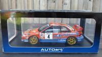 RARE AUTOART 1:18 SUBARU IMPREZA P1 WRC 2000 GERMAN TEAM KREMER TOY MODEL CAR