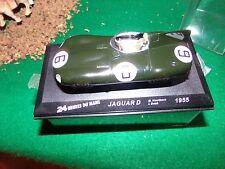 voiture miniature 1/43  IXO  JAGUAR TYPE D 24 H DU MANS 55 ET D TYPE III 57