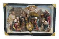 "NEW! ALPINE Nativity Bible Outdoor Statue 10"" x 18"" GXT846"