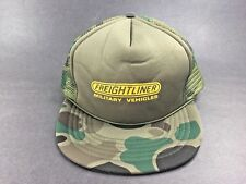 Vintage ~ FREIGHTLINER MILITARY VEHICLES Trucker Cap ~ Snapback~ NEW Old Stock
