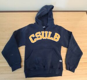 Russell Athletic CSULB Long Beach Hooded Sweatshirt Adult Size XS