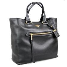 AUTHENTIC LUXURY PRADA BAG SHOPPER HANDBAG BN2754 BLACK