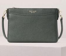Kate Spade New York Margaux Medium Convertible Crossbody Bag Deep Evergreen NWT