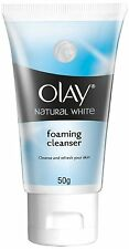 Olay Natural White Foaming Face Wash Cleanser, 50 gm free ship