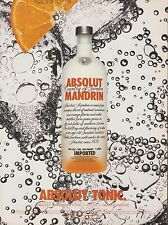 Absolut Vodka - Mandrin advertisement - 2003 magazine print ad