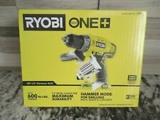 """NEW Genuine RYOBI P214 ONE+ 18-Volt 1/2"""" Hammer Drill W/Handle Tool only"""
