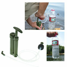 Portable Emergency Hiking Camping Mini Pure Soldier Pump Water Filter Purifier
