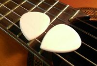 2 Zebu Bone Guitar Picks + Gibson Les Paul Guitar SG Standard Custom Studio ART