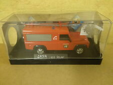 BOXED MODEL CAR SOLIDO / 4828 LAND ROVER POMPIERS