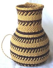 Decorative Rope Wrapped Tapered Basket  Decoration