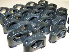 10 Alte Kabelklemmen Size L Bakelit für Schalter Steckdose Kabelschelle