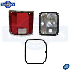 73-87 Chevy Pickup Truck Tail Light Lamp Lens Assembly LH W/ Trim LP81New