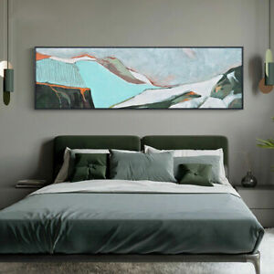 """LL261 Home decor Hand-painted oil painting on canvas Abstract art Unframed 59"""""""