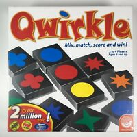 Qwirkle Brand New Factory Sealed Tile Matching Board Game Wood Mindware Mensa