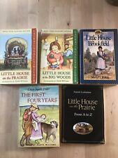 LOT 5 Little House On The Prairie Books - Laura Ingalls Wilder