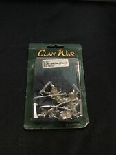 Legend of the Five Rings Clan War Lion Heavy Elite (4) Blister (Sealed, OOP)
