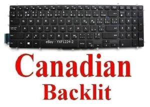 Keyboard for Dell P32E P32E001 P89F P89F001 P89F002 P89F004 - CA Canadian