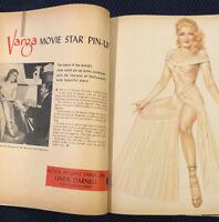 MOTION PICTURE MAGAZINE - September, 1947 - ESTHER WILLIAMS - VARGA PIN-UP