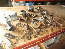 1974 Honda XL100 Flywheel Cylinder Clutch Cover Crankshaft Horn Stand Parts Lot