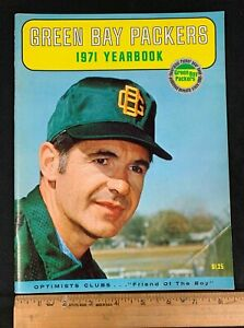 1971 FOOTBALL NFL GREEN BAY PACKERS YEARBOOK 2221