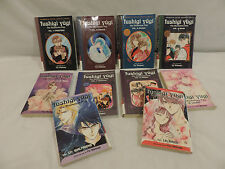 Lot 10 Manga Anime Graphic Comic The Mysterious Play Series by Fushigi Yugi