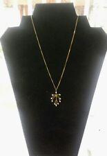 Philippa Kunisch Chandelier Necklace with White Beads