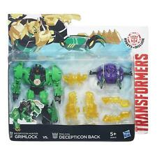 Transformers Robots in Disguise GRIMLOCK vs Mini-con Decepticon BACK Battle Pack