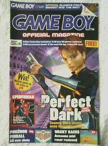 67105 Game Boy Official Magazine - Perfect Dark Magazine