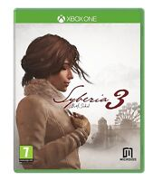 Syberia 3 For XBOX One (New & Sealed)