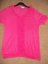 Womens Untold pink top size 16
