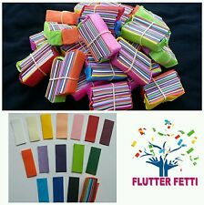 50 block bag Flutter Fetti tissue slow fall paper Confetti party celebration