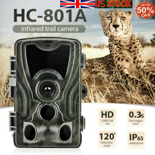 Waterproof 16mp Hunting1080p Camera Trail Scouting IR Night Vision Wildlife Cam