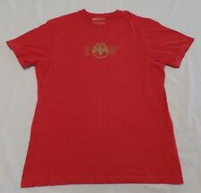 #1739-7 Bacardi Bat Est. 1862 Red 2-Sided Graphic T-Shirt XLG
