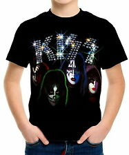 Kiss Boys Kids T-Shirt Tee wc1 ael20018