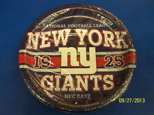 """New York Giants NY NFL Pro Football Sports Banquet Party 9"""" Paper Dinner Plates"""