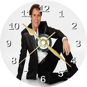 Cliff Richard 2 Novelty Cd Clock Can be personalised