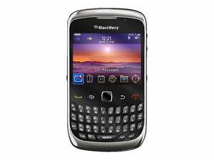 Blackberry Curve 3G 9300 - Black Silver (UNLOCKED) Smartphone USED