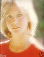 MINT Olivia Newton-John 1976 Japan Tour Book Program with Poster / Randy Edelman